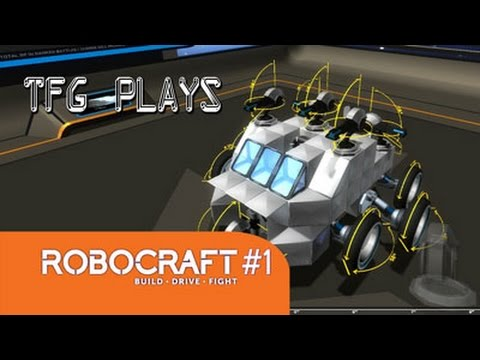 Robocraft Ep. 1 – First Fight