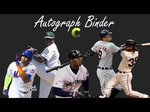 Autograph Binder - C and Weekend's Studs and Duds