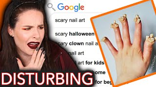 The Scariest Nails On the Internet (Simply Review)