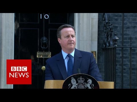 Brexit: David Cameron resigns as UK votes to leave - BBC News