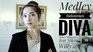 Medley Diva Indonesia (Cover) - Oskar Mahendra feat Nikita Willy & Irvan Camily