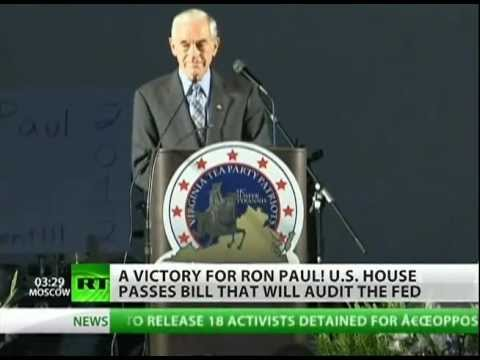 Congress votes for Ron Paul's Audit the FED bill