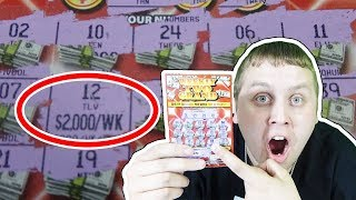 I Spent $100 On Lottery And THIS HAPPENED! WE FINALLY WON!