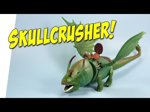 How to Train Your Dragon 2 Skullcrusher Power Dragon Review