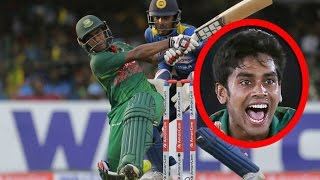 ধ্বংসস্তূপে দাঁড়িয়ে মেহেদী মিরাজের ব্যাটিং সৌন্দর্য Bangladesh vs Sri Lanka 3rd ODI 2017