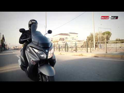 Suzuki Burgman 200 Test Ride