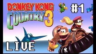 Snes Gameplay - Loots - Donkey Kong Country 3 #1