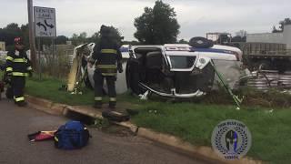 Jonesboro Police Crash - Prisoner Ejected From Cruiser