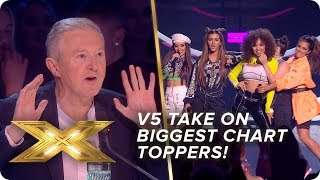 V5 take on two of the BIGGEST Latin chart-toppers EVER | Live Week 2 | X Factor: Celebrity