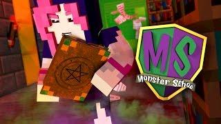 Minecraft Monster School - THE NEW GIRL STUDENT HAS A SECRET!