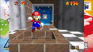 Let's Play Super Mario 64 (Episode 28) - Haunted by Mom