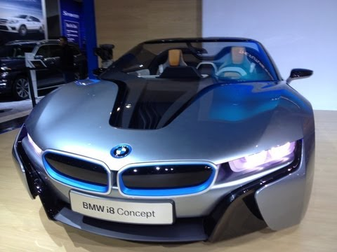 BMW reveals its future designs with the i8 & i3 concepts debut at the 2012 LA Auto Show