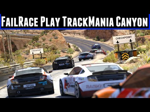 FailRace Play Trackmania Canyon