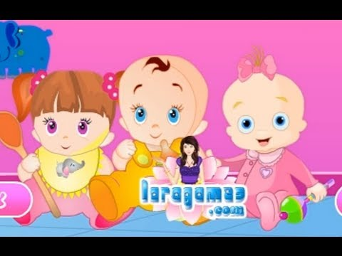 the baby care cartoon movie game for baby and kids