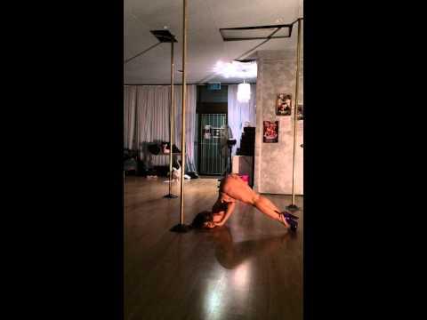 Yungie Week 8 at Pole Dance Academy Sydney