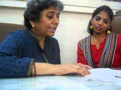 Sheela Sinha, Director  Education & Charanpreet Kaur, Deputy Director Helen Keller School   Part 7
