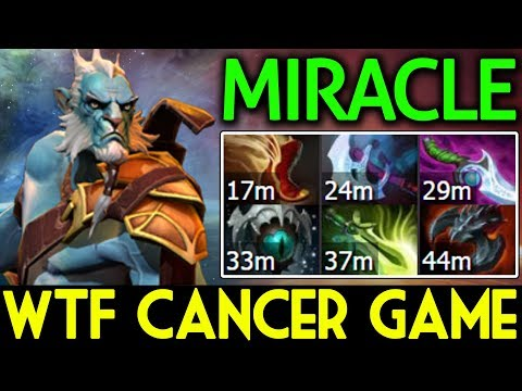 Miracle- Dota 2 [Phantom Lancer] WTF!! Cancer GAME