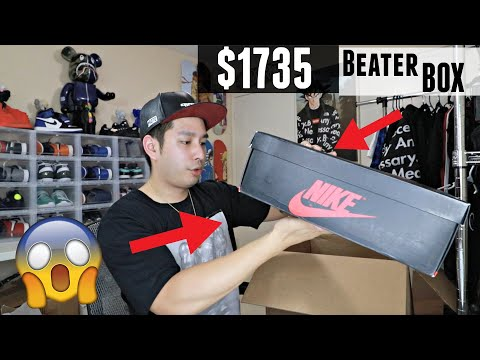 $1735 Sole Supremacy Beater Box | WE GOT SNEAKER GRAILS!!