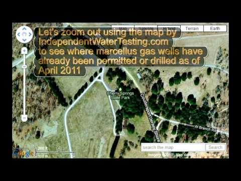 Cherry Springs Dark Sky Park and Marcellus Gas Well Flarings