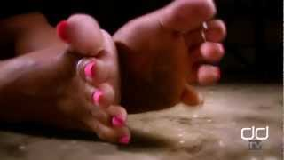 Darla TV - Foot Fetish, Dirty Ebony Feet