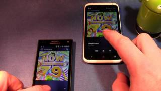 Sony Xperia S vs HTC One X (Boot time, GPS, Speaker tests)