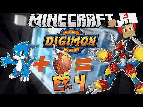Minecraft  | Digimon Mod - Ep.4 - Vabbe' ma e' impossibile !