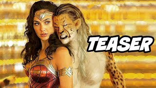 Wonder Woman 2 Official Teaser - Steve Trevor Scene Explained