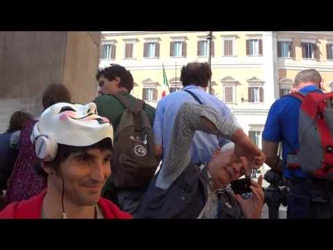 Protesta Gelato Party al Parlamento – Elezioni Presidente : Video Divertente