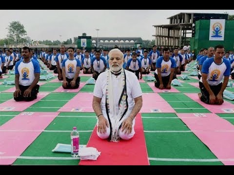 PM Modi address at 4th International Yoga Day Celebrations in Dehradun