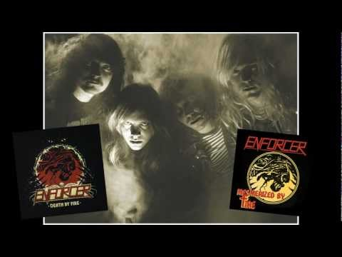 ENFORCER - Death By Fire (OFFICIAL REVIEWS)