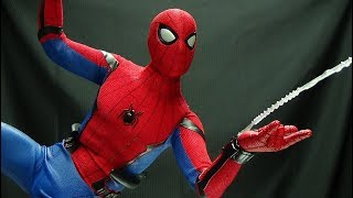 Hot Toys Spider-Man Homecoming SPIDER-MAN: EmGo's Hot Toys Reviews N' Stuff