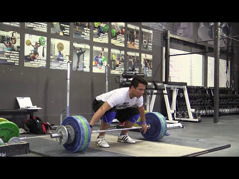 D'Angelo Osorio (94kg) at Catalyst Athletics - Power Snatch, Power Clean & Jerk & More