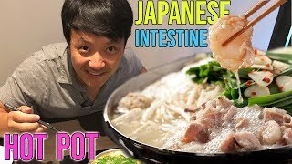 AMAZING Japanese HOT POT Motsunabe in Fukuoka Japan