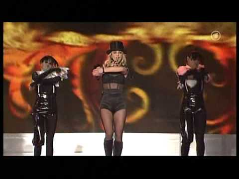 ARD: Britney Spears - Womanizer + Award @ Bambi 2008