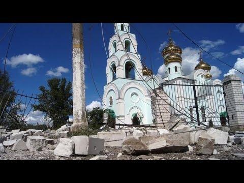 Ukraine: Slaviansk endommagée par les combats