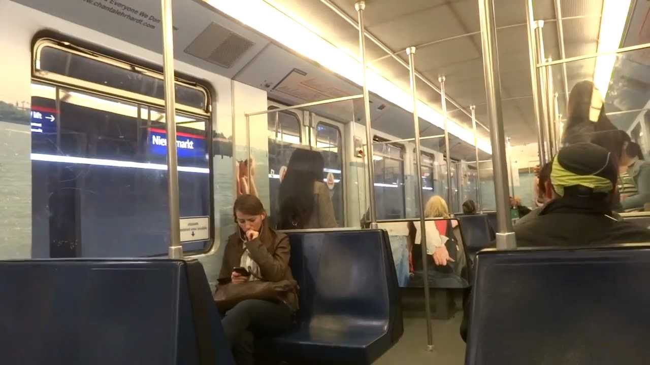 Ride on the subway in Amsterdam - YouTube