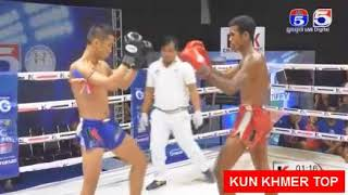 Soth Bunthy vs Phai Kimhoeut, Khmer Boxing TV5 17 Feb 2018, Kun Khmer vs Muay Thai