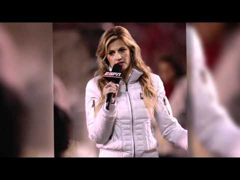 Erin Andrews Wears 'Mom Pants' at Rose Bowl Game - Splash News | Splash News TV | Splash News TV thumbnail