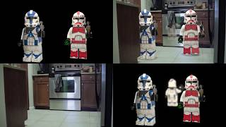 Before and After | Real Life: Lego Star Wars - The Last Jedi