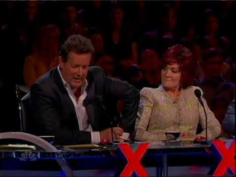 America's Got Talent Comedian gives it to Hasselhoff & Piers