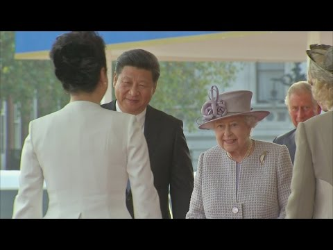 Chinese President Xi Jingping meets Queen on UK visit