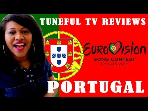 EUROVISION 2018 - PORTUGAL - Tuneful TV Reaction & Review