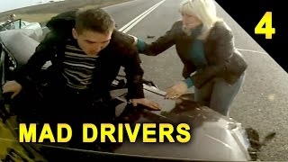 MAD DRIVERS #4: 40 Videos of Car Crashes and Close Calls (HD Compilation)