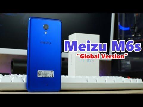 Распаковка Meizu M6s Global Version в ОФИГЕННОМ синем цвете ...