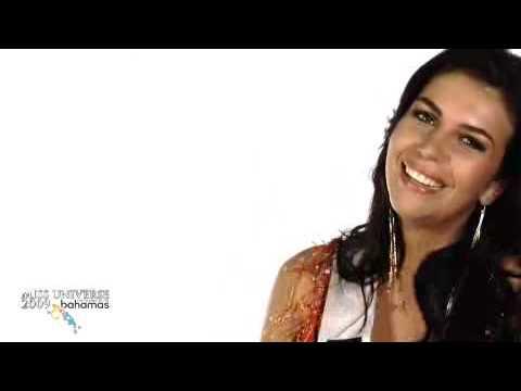 Miss Bolivia Dominique Peltier VIVA BOLIVIA UNIDA CARAJO!!!