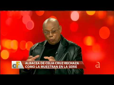 Albacea de Celia Cruz rechaza como la muestran en la serie