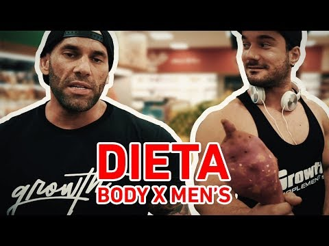 DIETA BODY X MEN'S PHYSIQUE - COM THIAGO SANTISTEBAN E REY PHYSIQUE
