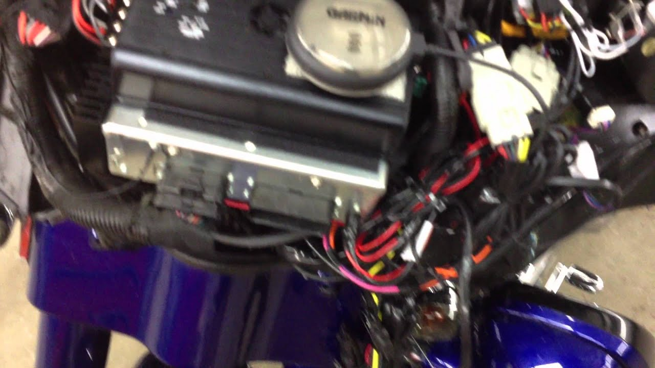2012 Street Glide >> Harley Davidson CVO SG with Arc Audio stereo - YouTube