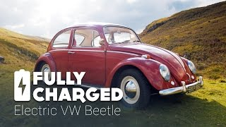 Electric VW Beetle   Fully Charged