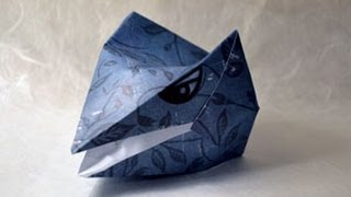 Origami Dragon-head Instructions: Www.origami-fun.com